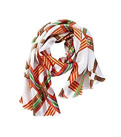 Lauren Ralph Lauren® Paloma Iconic Belted Oblong Scarf