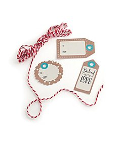 Nordic Ware® 12-ct. Kraft Gift Tags with Baker's Twine