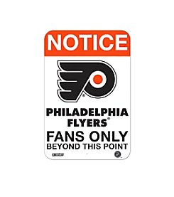 NHL® Philadelphia Flyers Fans Only Aluminum Sign