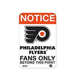 NHL® Philadelphia Flyers Fans Only Aluminum Sign