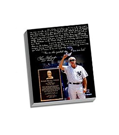 Goose Gossage Facsimile Goose Gossage Day Story Stretched 16x20 Story Canvas