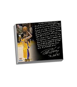 Robert Horry Facsimile Big Shot Rob Story Stretched 16x20 Story Canvas