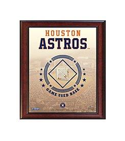 MLB® Houston Astros Game Used Base Stadium Collage