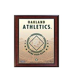 MLB® Oakland Athletics Game Used Base Stadium Collage