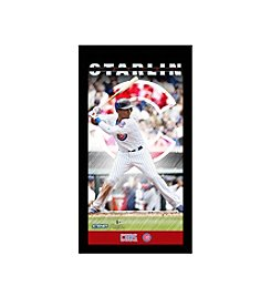 MLB® Chicago Cubs Starlin Castro Player Profile Wall Art