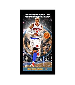 Carmelo Anthony New York Knicks Player Profile Wall Art 10