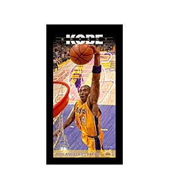 Kobe Bryant Los Angeles Lakers Player Profile Wall Art 10