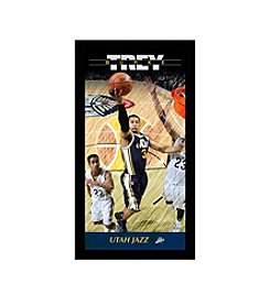 Trey Burke Utah Jazz Player Profile Wall Art 10