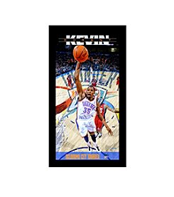 Kevin Durant Oklahoma City Thunder Wall Art Framed Photo