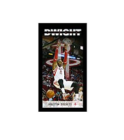 Dwight Howard Houston Rockets Player Profile Wall Art 10