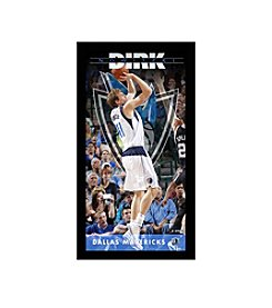 Dirk Nowitzki Dallas Mavericks Player Profile Wall Art 10