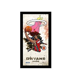 Dwayne Wade Player Profile Framed 10