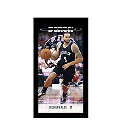 Deron Williams Brooklyn Nets Player Profile Wall Art 10