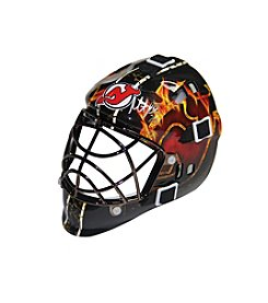 NHL® New Jersey Devils Martin Brodeur Signed Flame Mini Helmet