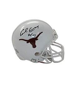 NCAA® University of Texas Earl Campbell Replica Mini Helmet with Heisman Trophy '77 Inscription
