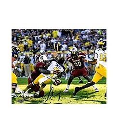 Jadeveon Clowney Hit vs Michigan Signed 8