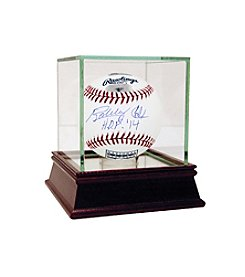 Hall of Fame Logo Baseball Signed by Bobby Cox