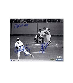 Bucky Dent/ Mike Torrez Dual Signed 1978 Home Run 8