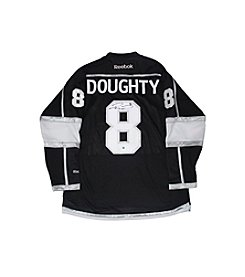 Drew Doughty Signed Los Angeles Kings Black Authentic Jersey