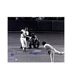 Reggie Jackson Signed 1977 WS Home Run Off Sosa 16