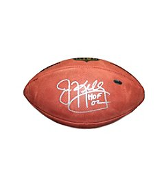 Jim Kelly Signed NFL Duke Football with Hall of Fame Inscription