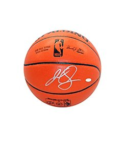 JR Smith Signed NBA Orange Basketball