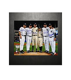Yankees Final Game at Yankee Stadium Perfect Game Battery Mates with PG Inscription 16