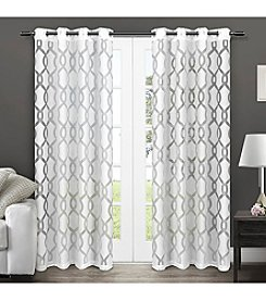 Exclusive Home Rio Grommet Window Curtain