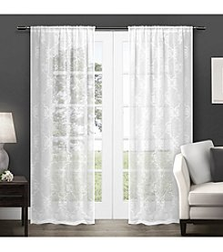 Exclusive Home Seville Rod Pocket Window Curtain