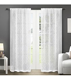 Exclusive Home Cali Rod Pocket Window Curtain