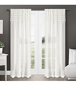 Exclusive Home Harta Rod Pocket Window Curtain