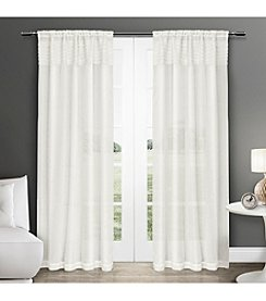 Exclusive Home Eko Rod Pocket Window Curtain