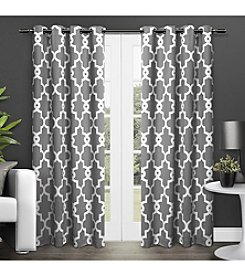 Exclusive Home Ironwork Blackout Thermal Grommet Window Curtain