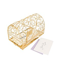 Cathy's Concepts Personalized  Gold Gift Card Mailbox Holder