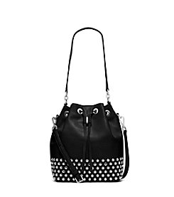 MICHAEL Michael Kors® Dottie Large Studded Leather Bucket Bag