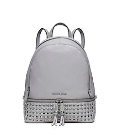 MICHAEL Michael Kors® Rhea Zip Medium Grommet Leather Backpack