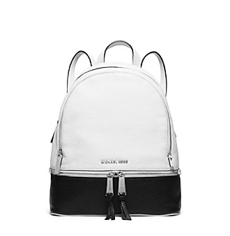 b750c9201210 UPC 190049143339 product image for MICHAEL Michael Kors® Rhea Zip Medium  Bi-Color Leather ...