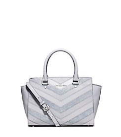 MICHAEL Michael Kors®  Selma Medium Chevron Satchel