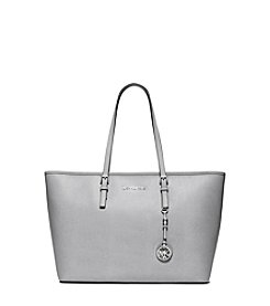 MICHAEL Michael Kors® Jet Set Travel Saffiano Leather Top-Zip Tote