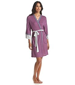 Layla® Printed Wrap Robe