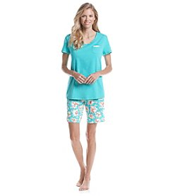 Intimate Essentials® Bermuda Pajama Set