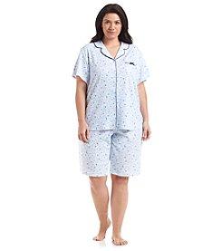KN Karen Neuburger Plus Size Bermuda Pajama Set