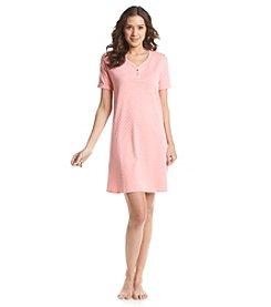 KN Karen Neuburger Henley Nightgown