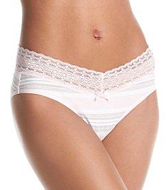 Relativity® Printed Lace Waist Bikini