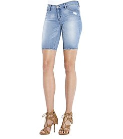 Jessica Simpson Bermuda Jean Shorts