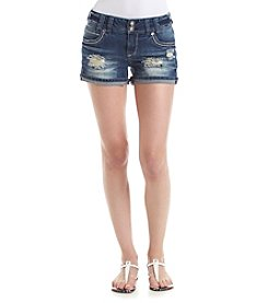 Wallflower® Bling Star Denim Shorts