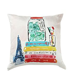 kate spade new york® Adventure Fund Decorative Pillow
