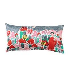 kate spade new york® Flower Market Decorative Pillow