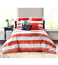 kate spade new york® Rugby Stripe Comforter Collection