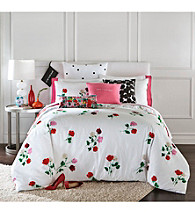 kate spade new york® Willow Court Floral Comforter Collection